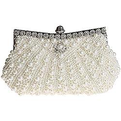 Bolso para Novia Blanco con Perlas