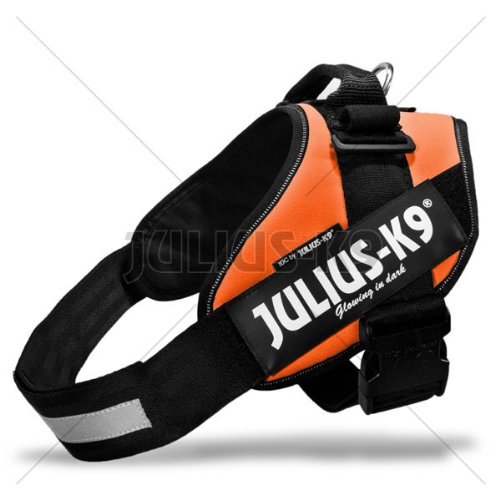 16IDC-OR-0 Julius K9® IDC Geschirr Größe 0 - Farbe: orange - Hundegeschirr Einsatzgeschirr Powergeschirr Hetzgeschirr INNOVA DOG COMFORT - Brustumfang: 58-76cm K-9