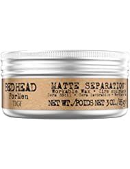 Tigi Bed Head Men Matte Separation Workable Wax, 1er Pack, (1x 85 g)