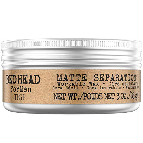 Tigi Bed Head Men Matte Separation Workable Wax, 1er Pack, (1x 85 g) - Gel-pro-matte