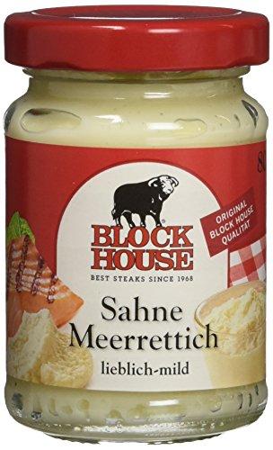 Block House Sahne Meerrettich, 6er Pack (6 x 80 g)