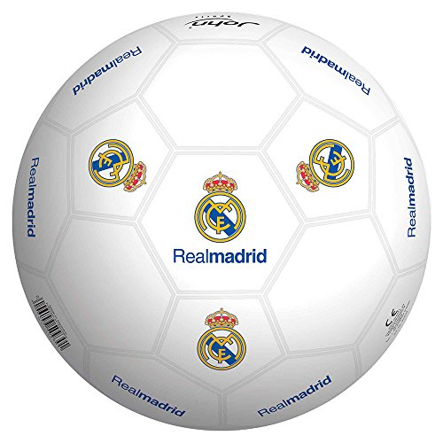 Real Madrid Real Madrid-50929 Balon 23 cm con Estuche Smoby 50929
