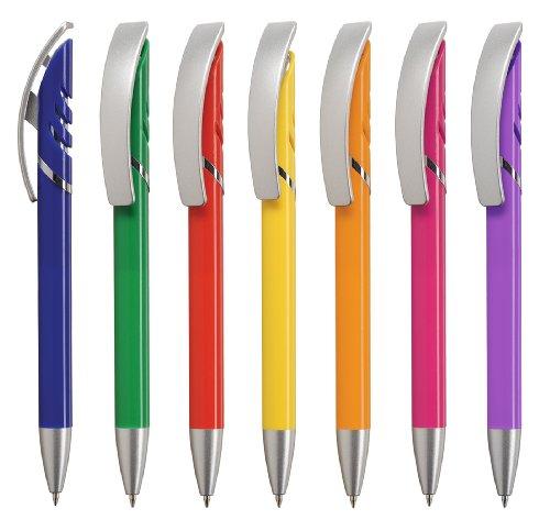 Kugelschreiber STARCOLOR 50 Stück mit Druck/Werbung/Logo