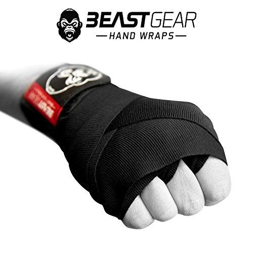 Zoom IMG-3 beast gear bendaggi boxe avanzati