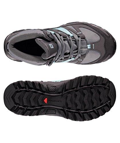 40.5 EU  40.5 EU Salomon Mudstone Mid 2 GTX Chaussures de randonnée shadow MOMINO - Sneaker rose et noire en cuir et suède Asics Gel-Lyte III  Blanc (White/White) n2eRHb