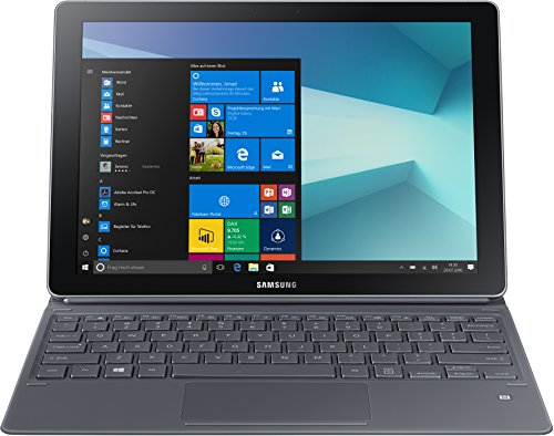 Samsung Galaxy Book W720 30,44 cm (12 Zoll) Convertible Tablet PC (Intel Core i5 7200U, 8GB RAM, 256GB SSD, Windows 10 Home) silber (Samsung Galaxy 9-zoll-tablet-fall)