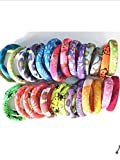 #4: High quality Nylon Rubber band Lady Girls Wrapped Stretchy pony tail holder Hair Ties Bands 30 PCS Multi Color
