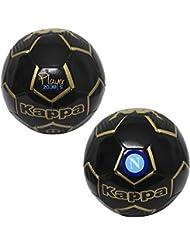 SSC Napoli pallone calcio team nero Kappa (size 5)