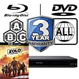 Sony UBP-X1000ES MULTIREGION Blu-ray Player Bundle with Solo - A Star Wars Story Ultra HD 4K Blu-ray Disc