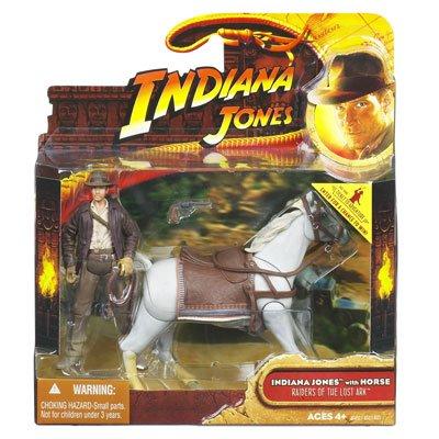 Indiana Jones - Raiders of the Lost Ark - Indiana Jones with Horse by Indiana Jones