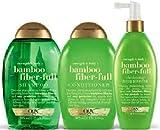 (3Pack) ogx Stärke & Body + Bambus fiber-full Shampoo X 385ml & ogx Stärke & Body + Bambus...