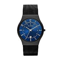 Skagen Herren-Armbanduhr Slimline Analog Titan Stahl T233XLTMN