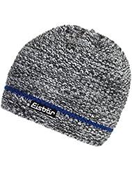 Eisbär Levi–Gorro, unisex, Levi, schwarz/anthrazit/White/Blitzb, S, M, L o XL