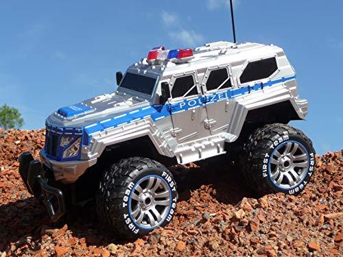 RC Auto kaufen Monstertruck Bild 4: RC Jeep SWAT POLICE mit LICHT & AKKU 1:12 Länge 39cm Ferngesteuert 27MHz*