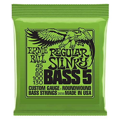 Ernie Ball 2836 Regular Slinky Bass 5 Gitarrensaiten