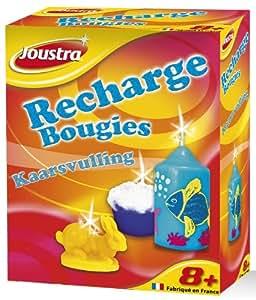 Joustra - 45008 - Kit de Loisir Créatif - Recharge Bougies