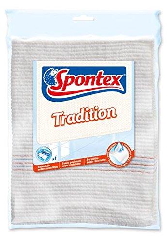 Spontex Bodentuch Tradition für die leichte Reinigung aller Böden im Innen- und Außenbereich (Leichte Böden)