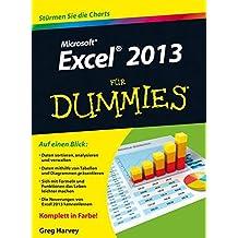 Excel 2013 für Dummies