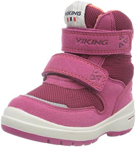 Viking Tokke, Chaussures Bateau Mixte Enfant Rose - Pink (Fuchsia/Coral 1751)