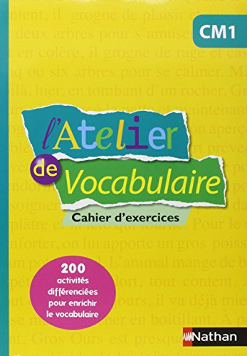L'Atelier de Vocabulaire CM1