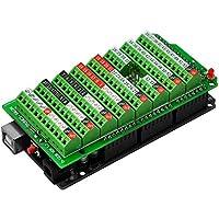Electronics-Salon Schraubklemmenblock Breakout Modul, für Arduino MEGA-2560 R3.