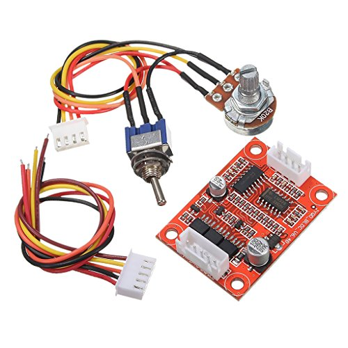 Homyl 12V DC Brushless Motor Speed ​​Control PWM Driver Board Controller Motor- und Treiberplatine (Motor Speed Control)