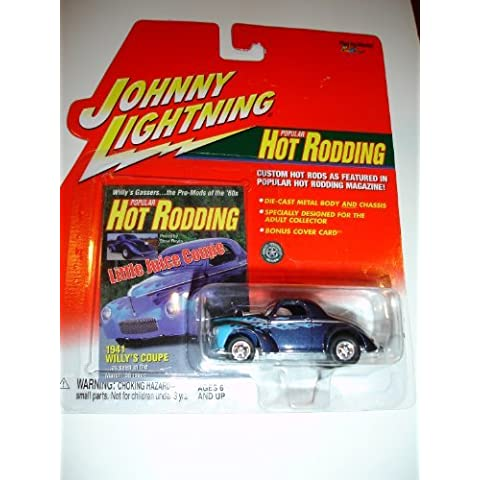 Johnny Lightning 1941 Willys Coupe Hot Rodding Series by Playing Mantis