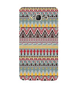 Fuson Designer Back Case Cover for Samsung Galaxy On5 (2015) :: Samsung Galaxy On 5 G500Fy (2015) ( Ethnic Pattern Patterns Floral Decorative Abstact Love Lovely Beauty )