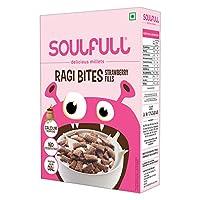 Soulfull Ragi Bites - Strawberry, 250g