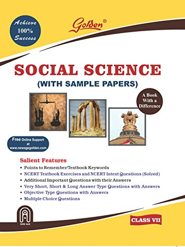 Golden Social Science Reference book for Class- VII
