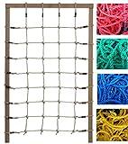 Kletternetz 2m hoch, verschiedene Breiten und Netzfarben zur Auswahl (Breite 125cm)