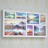 LXD Lampada da parete per uso domestico, attrazioni fotografiche rettangolari a led Sfondo paesaggio divano murale decorativo, 31 * 62 cm, lampada di moda