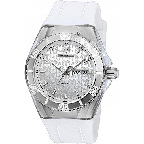 technomarine-cruise-herren-armbanduhr-armband-silikon-weiss-gehause-edelstahl-quarz-analog-tm-115209