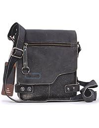 ASHWOOD - Camden 8351 - Bolso bandolera - Apto para llevar Kindle y iPad - Cuero