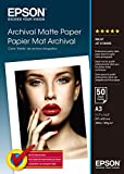 Epson Supplies archival Matte Paper A3