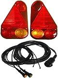 Aspöck Earpoint 3 - 7 pol komplett Set Leuchten und Kabel wählbare Länge, K:4 Meter