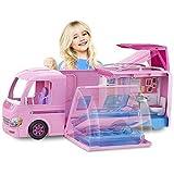Barbie Furgoneta Plegable Camper Duplex Vehículo Transformer Características Niños Juguete...