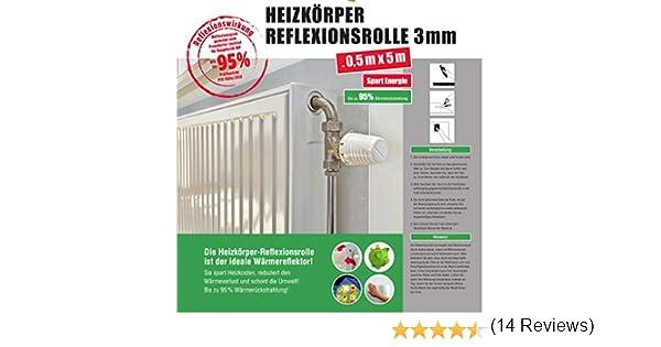 2 mx60 cm Couvercles de radiateur disolation Ligheweight pour murs planchers et toits domestiques - Rouleau isolant r/éfl/échissant la chaleur Feuille isolante pour radiateur Facile /à installer