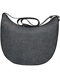Womens Luna Medium C/Filetto Shoulder Bag Borbonese 3k8uBgM77t