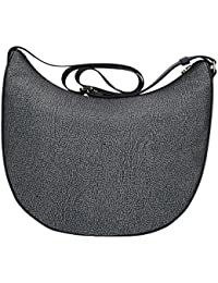 Womens Luna Medium C/Filetto Shoulder Bag Borbonese