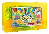Craze 52731 - Magic Sand Mega-Box., ca. 700g Sand. Verschiedene Ausführungen. Sortiert