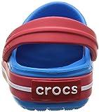 Crocs Crocband Unisex Kids' Clogs - Blue (Ocean/Red),  C4-5 (19-21 EU) Bild 2