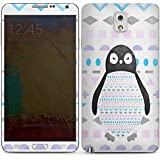 Samsung Galaxy Note 3 Autocollant Protection Film Design Sticker Skin Pingouin Motif Motif