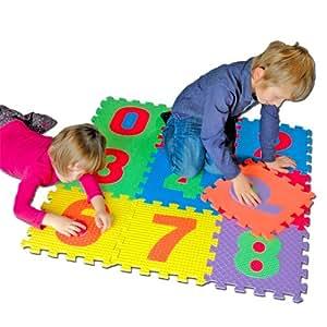 Tatamiz - TTZ.123 - Puzzle de Sol - Tapis Puzzle 123