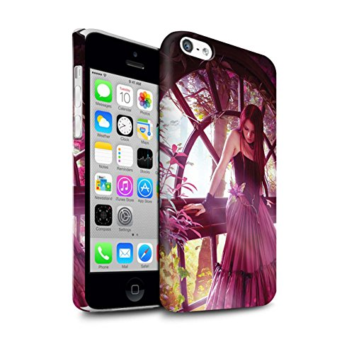 Officiel Elena Dudina Coque / Clipser Matte Etui pour Apple iPhone 5C / Bain Caché Design / Un avec la Nature Collection Couleurs d'Automne