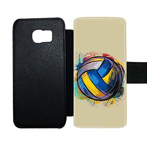 Preisvergleich Produktbild Gogh Yeah Ersichtlich Zum Samsung S6 Edge Support Card Hold Standh¨¹llen Design Volleyball Boy