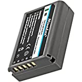 Minadax batterie 1020 mAh avec ® pour olympus oM-d, eM5, bLN - 1–système de batterie intelligent avec puce