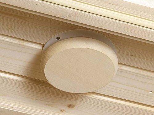 Preisvergleich Produktbild eliga Lüftungsventil mit Holzabdeckung natur