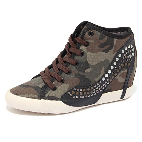 7761Q sneaker donna OLO scarpa mimetica borchie shoes women [40]