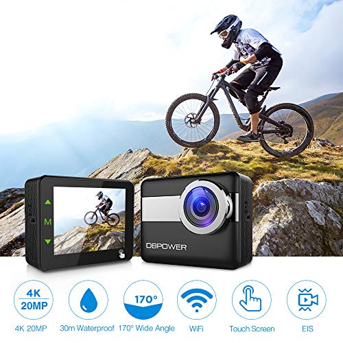 Zoom IMG-1 dbpower n6 action cam hd